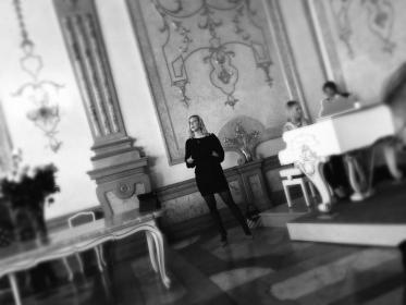 Joy & Anna May Duo, Marmorsaal, Salzburg, photo © by A. Heyer